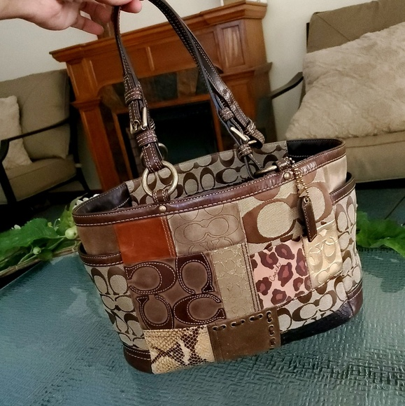 Coach Handbags - Authentic Coach Patchwork Tote
